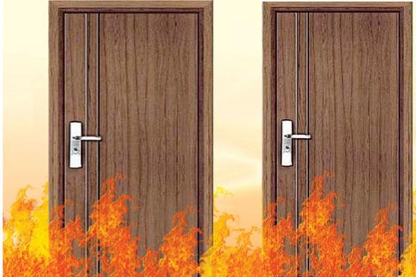Sự cần thiết của cửa gỗ công nghiệp chống cháy với căn hộ chung cư