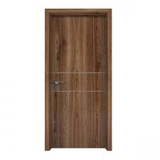 Cửa gỗ Composite chỉ trang trí CTT04