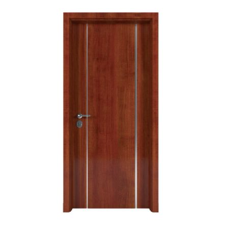 Cửa gỗ Composite chỉ trang trí CTT06