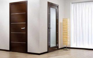 Các loại cửa thông phòng bằng gỗ công nghiệp ưa dùng cho văn phòng
