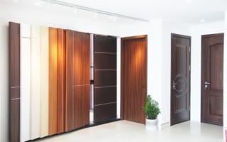 Lắp đặt cửa gỗ công nghiệp ở Hà Nội gia đình anh Khánh