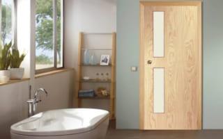 Cửa gỗ công nghiệp composite – lựa chọn sáng suốt dùng cho nhà vệ sinh