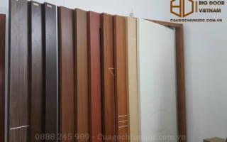 10 mẫu cửa thông phòng gỗ công nghiệp đẹp hoàn hảo từng chi tiết