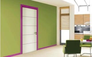 Những điều bạn cần biết về chọn màu sắc cửa gỗ thông phòng hợp mệnh