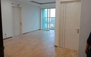 Lắp cửa gỗ composite cho căn hộ chung cư T&T River View