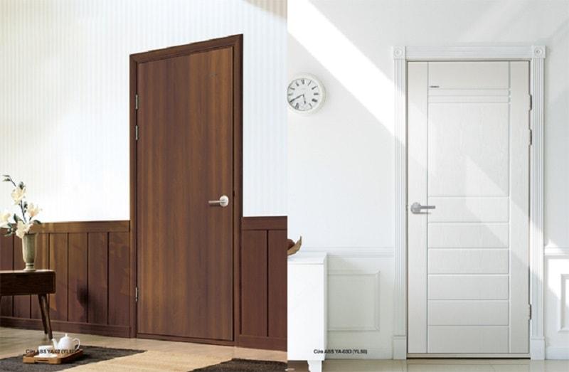 Cửa nhựa giả gỗ Composite – sản phẩm được ưu chuộng nhất hiện nay.