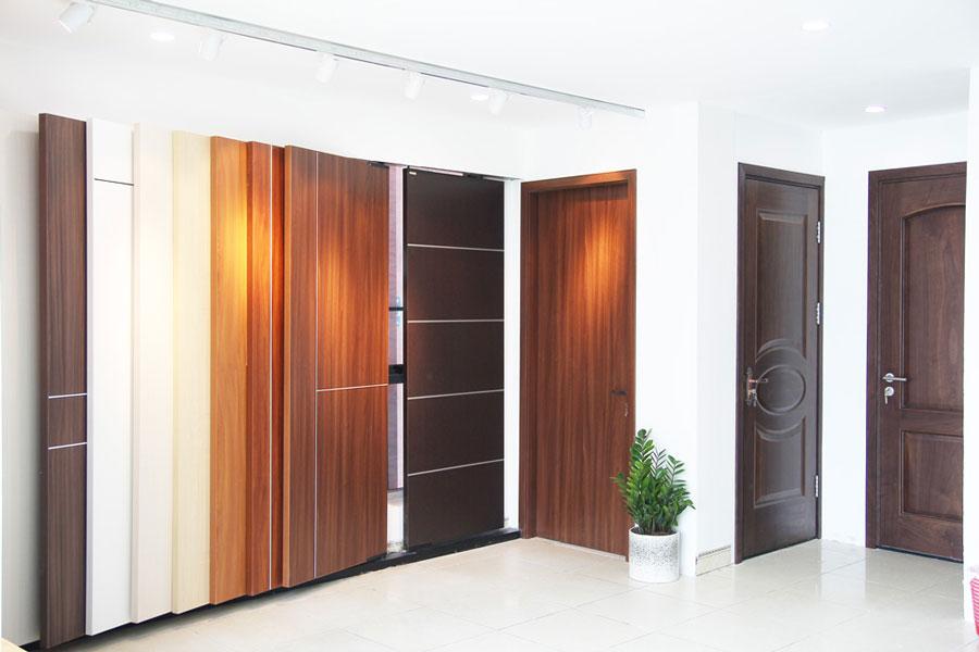 Thị trường cửa nhựa Composite sôi động với mẫu cửa thông phòng