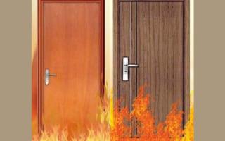 Các chuyên gia nói gì về tính năng chống cháy của cửa gỗ công nghiệp Composite?