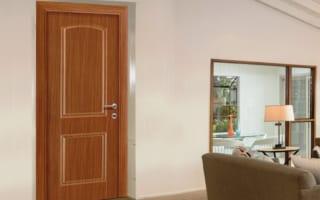 Cửa gỗ nhựa composite giải pháp thay thế cửa gỗ tự nhiên